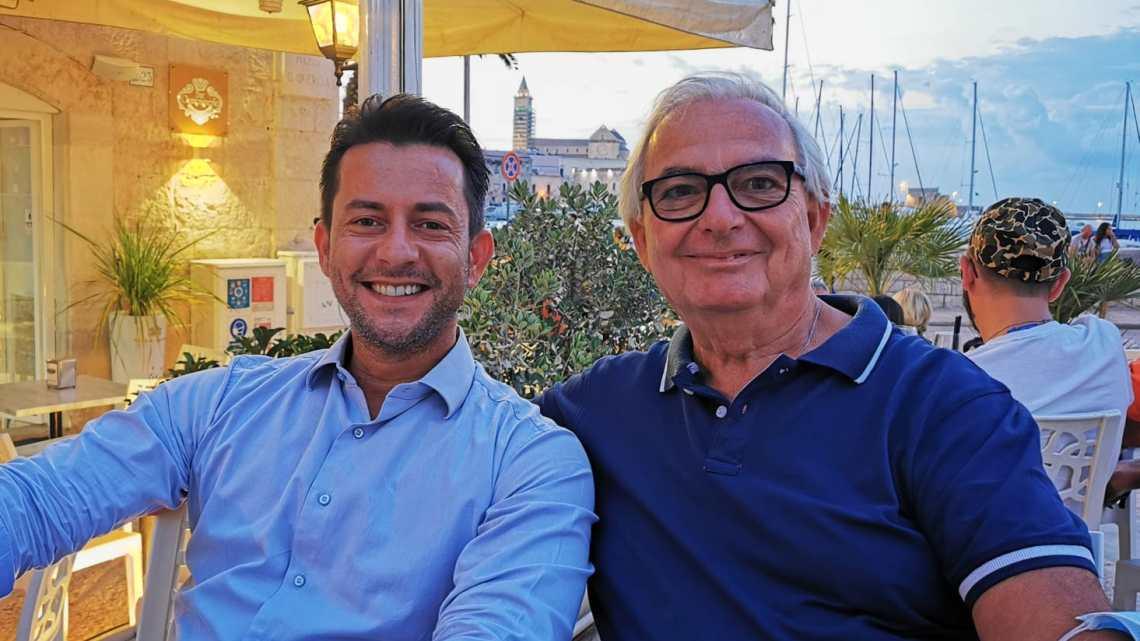 """Amministrative Trani, Galantino incontra Palumbo: """"La migliore scelta per Trani"""""""