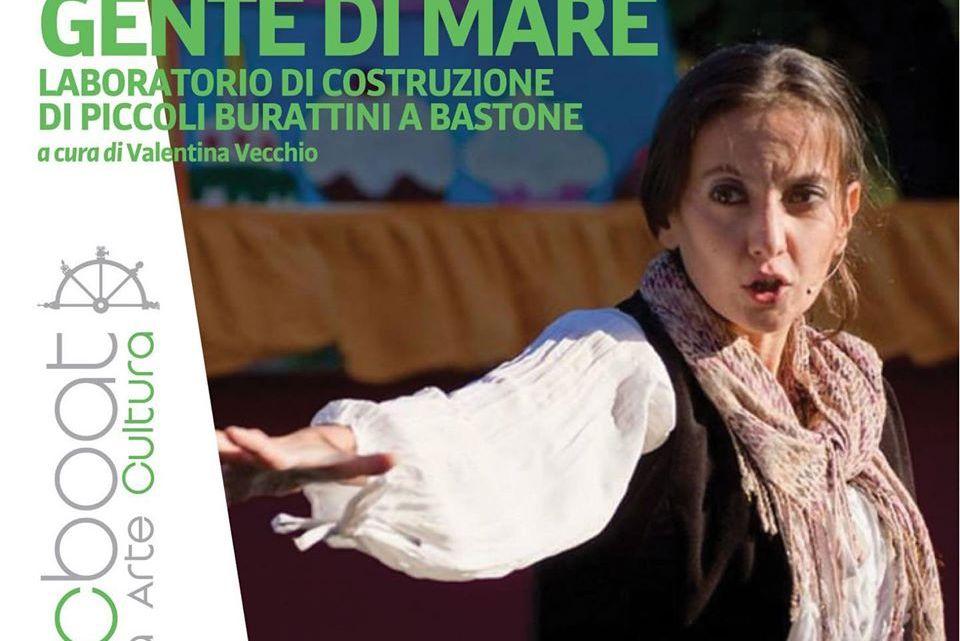 """Al Festival MACboat è l'ora di """"Gente di Mare"""", laboratorio per bambini a cura della burattinaia Valentina Vecchio"""