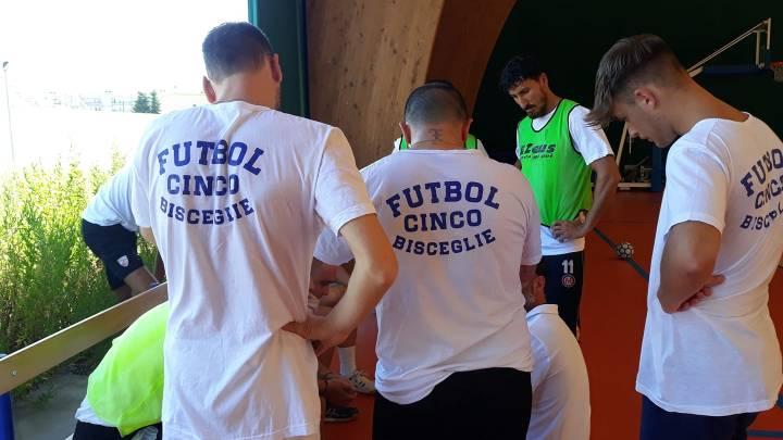 Futbol Cinco Bisceglie, esordio interno con il Palo del Colle