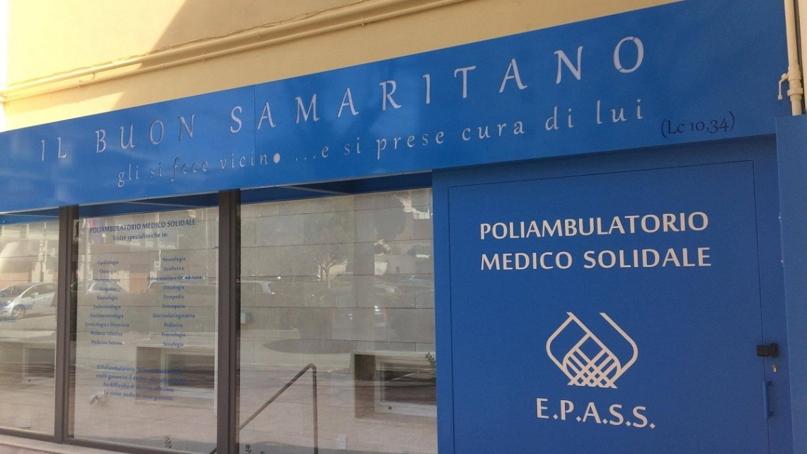 Il Poliambulatorio Il buon Samaritano riapre al pubblico