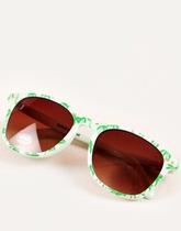 okulary w palmy