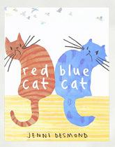 Red cat. Blue cat