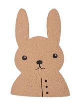 tablica korkowa królik