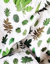 Pikowana narzuta w liście