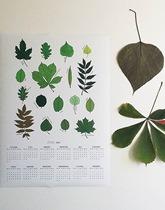 Kalendarz jednostronnicowy w liście