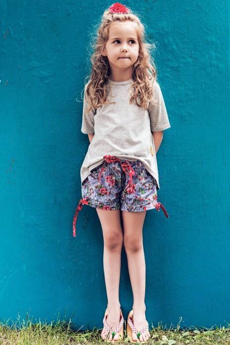 pizama-dla-dziewczynki-szare-motyle-1
