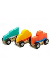 Składane samochodziki ModMobiles Fat Brain Toys