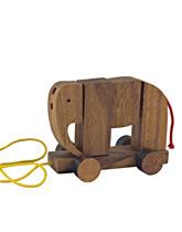 Słoń na sznurku