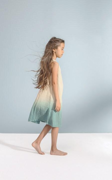 A-line ombre dress