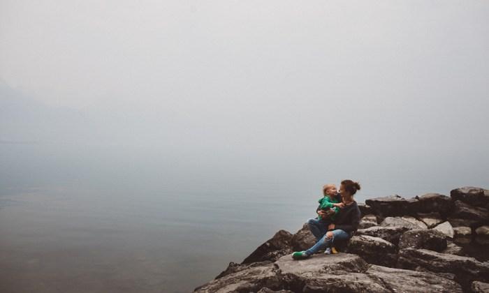 Alpy za mgłą