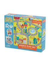 Puzzle zestaw z figurkami