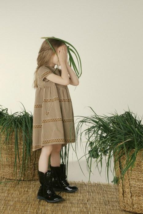 sukienka me musztardowe trawy 2