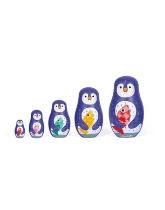 Matrioszki - Rodzina Pingwinów