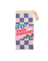 Gra 2 w 1 - szachy i warcaby - Księżniczki