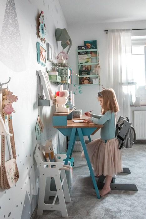 biurko vogel S błękitne 1