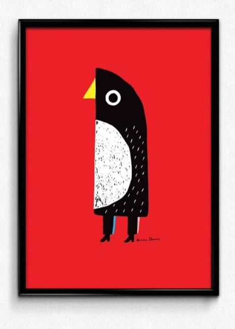 Pingwin Basia Flores