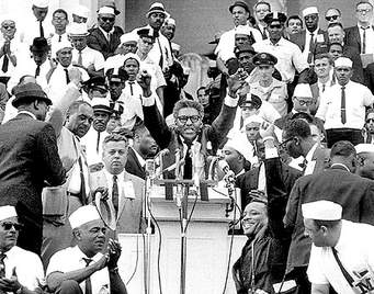 Bayard Rustin March in Washington