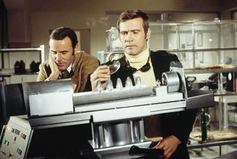 Richard Anderson and Lee Majors