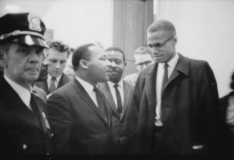 MartinLutherKing and Malcolm X