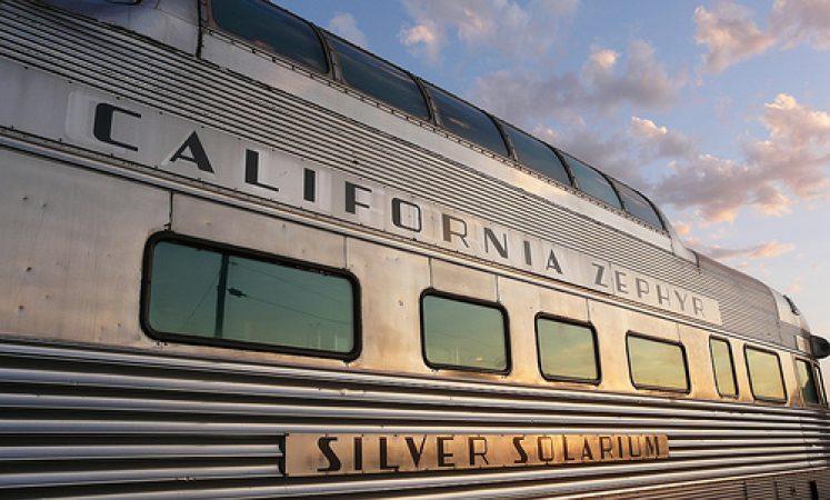 Silver Solarium California Zephyr