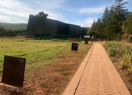 Capture site na África do Sul (foto: Andrea Miramontes)