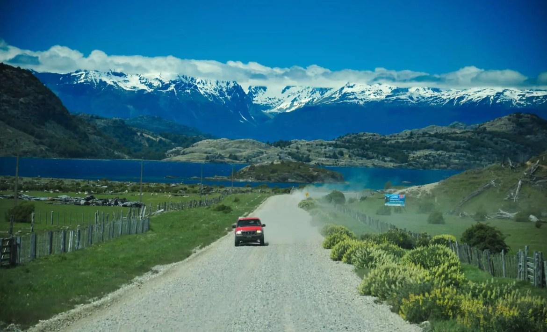 Trecho da Carretera Austral, estrada icônica na região patagônica de Aisén, no Chile - foto Jaime Borquez