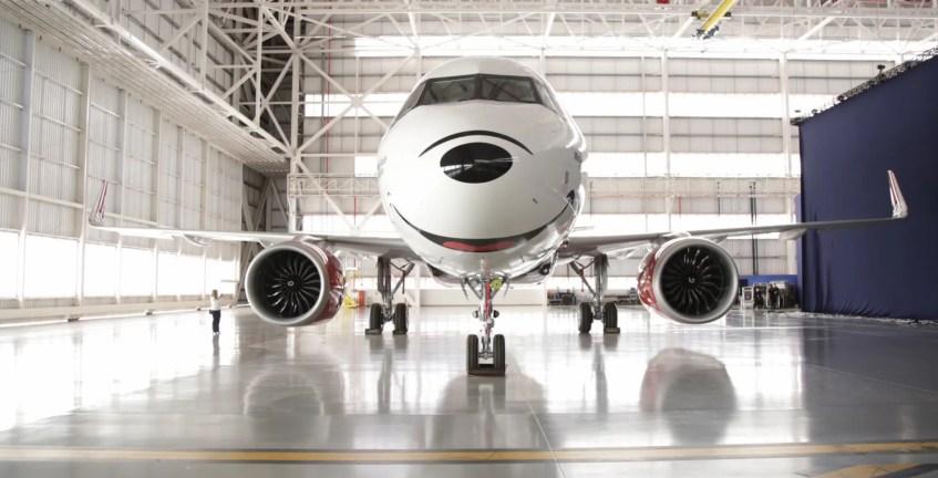 avião Azul mickey