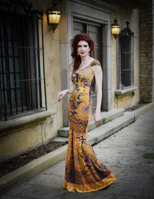 Beau Bumpas Photography, gown by Roberto Cavalli