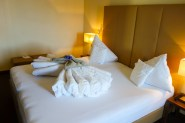 King size bed (hard to find in most european hotels!)