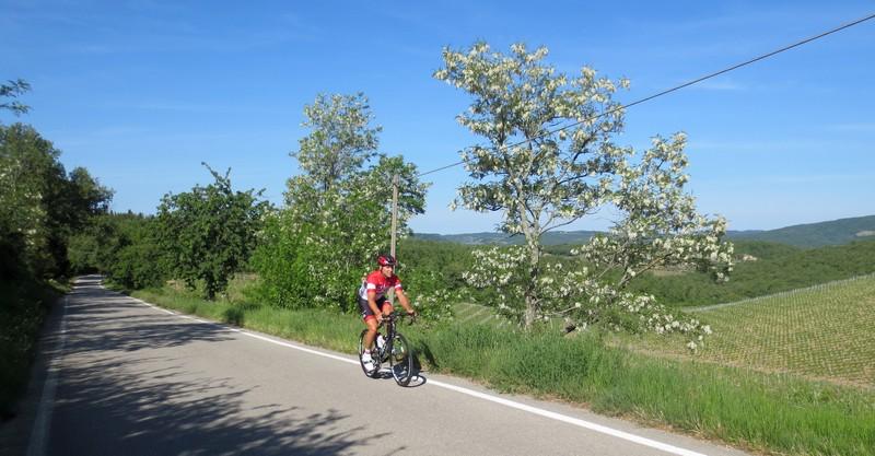 cicloturismo: strada secondaria Chianti