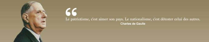 Citation de Charles de Gaulle