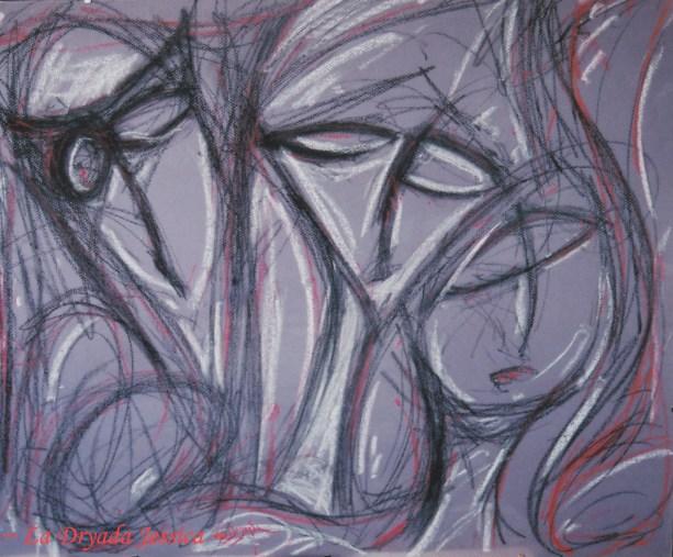 ~ Pastel sur papier 50/60cm ~2009 ~