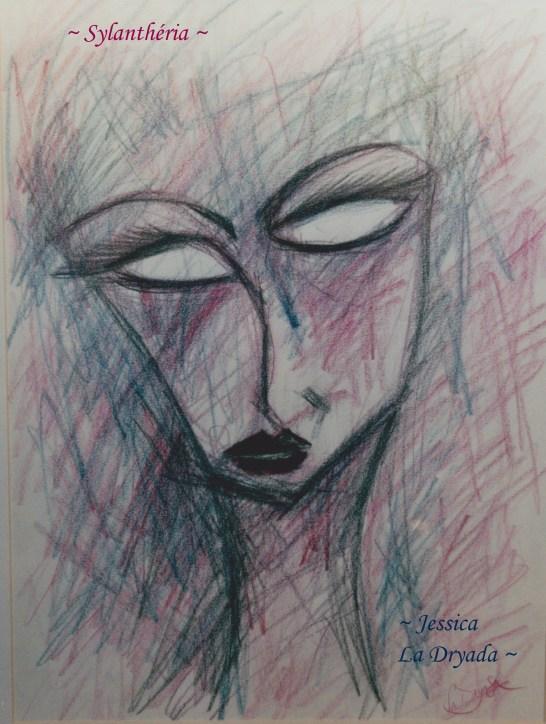 ~ Sylanthéria ~Crayon sur papier 29,7/42cm ~2011 ~