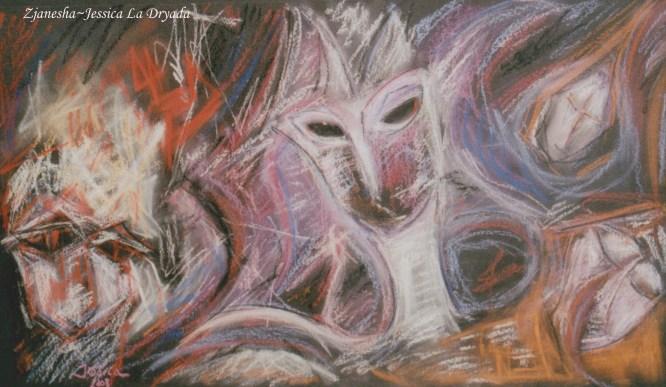 ~ Zjanesha ~Pastel sur papier 40/60cm ~ 2008 ~