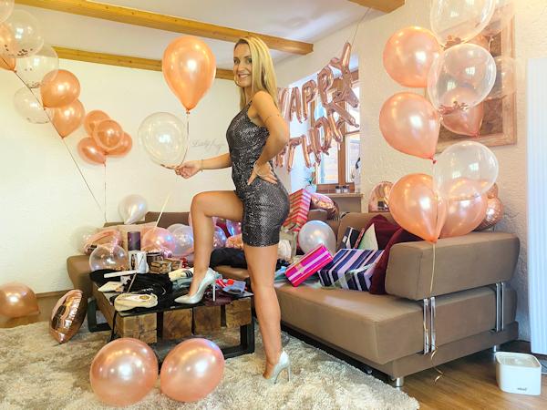 Die Geldlady feiert bald Geburtstag – Beschenke mich