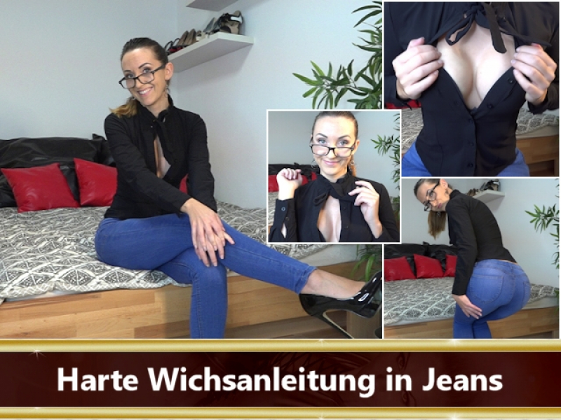 Wichsanleitung in Jeans Video