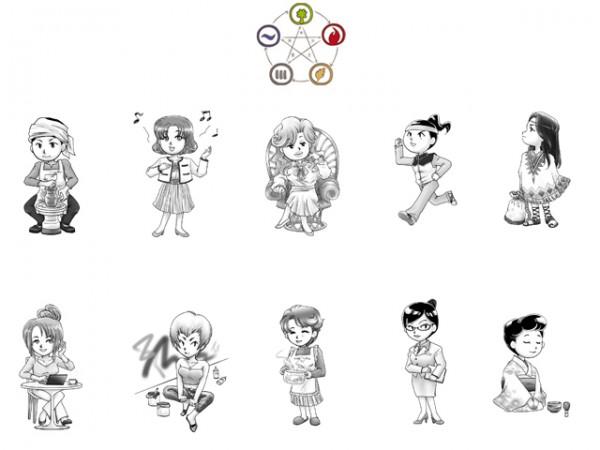 10girls