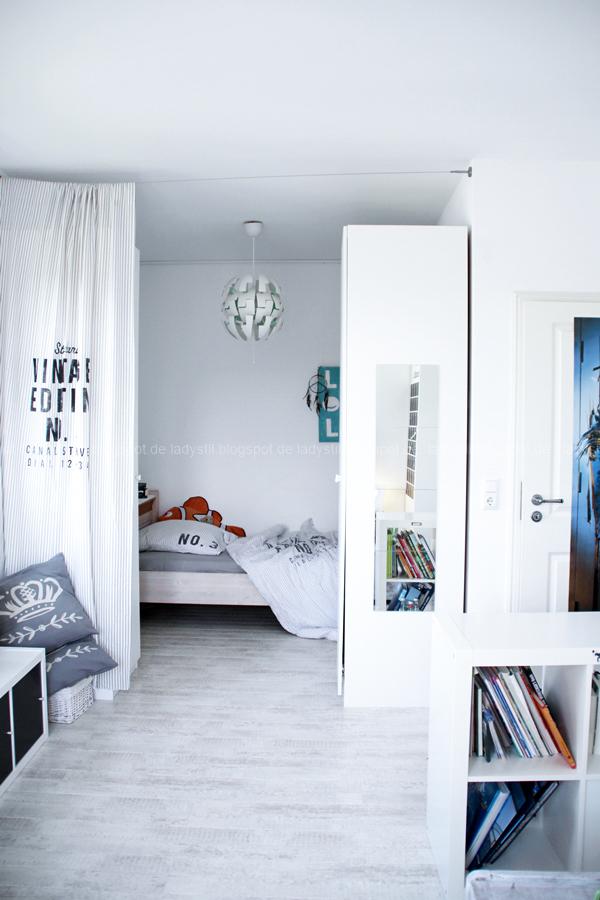 Schlafbereich im Jugendzimmer