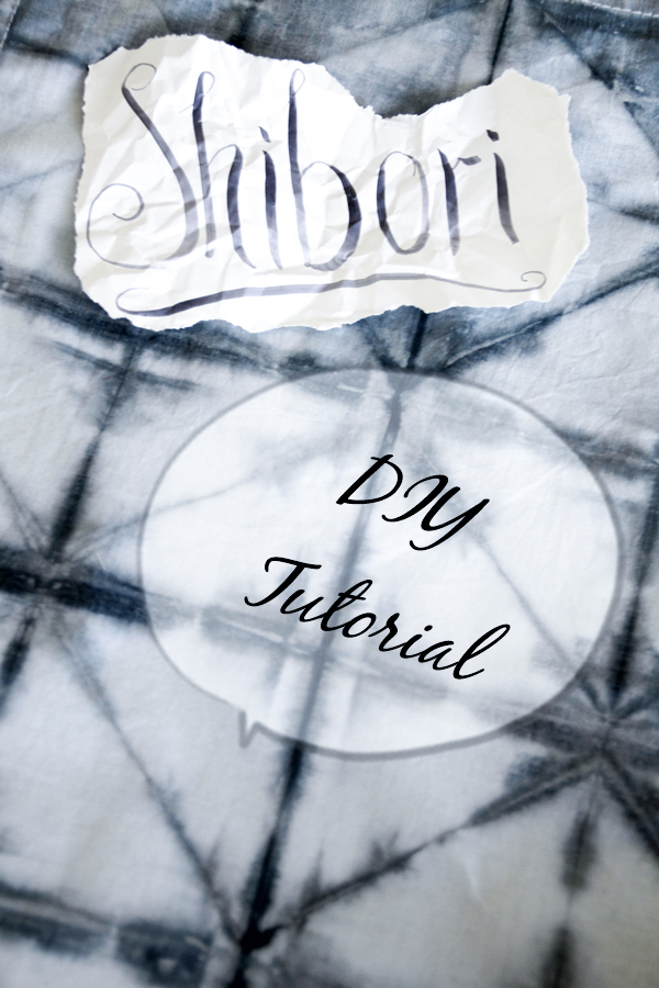 Shibori Tutorial Diy Lady Stilde