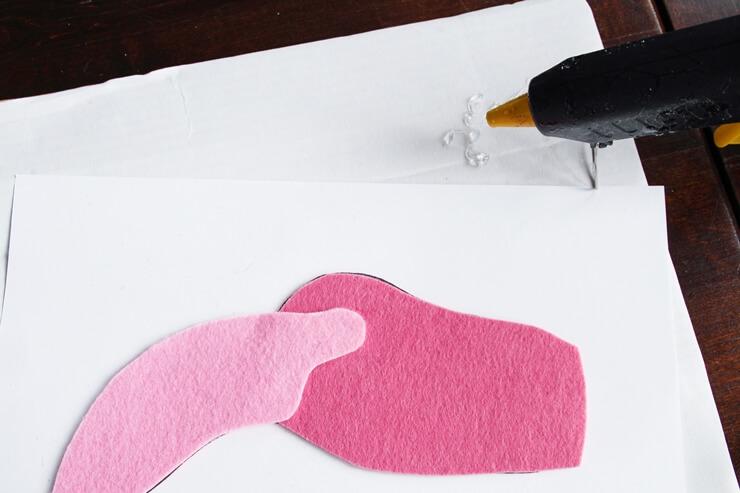 Last Minute Karnevalskostüm Flamingoo/