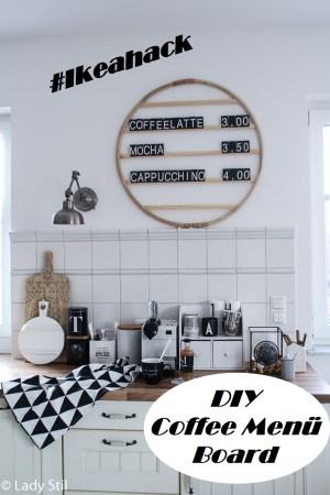 Cafe Menü Board Letterboard