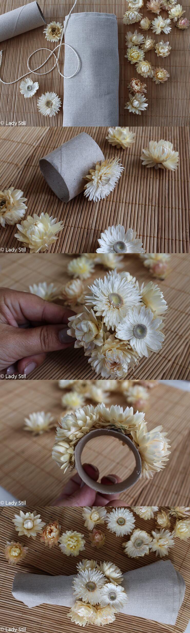 Strohblumen DIY Anleitung