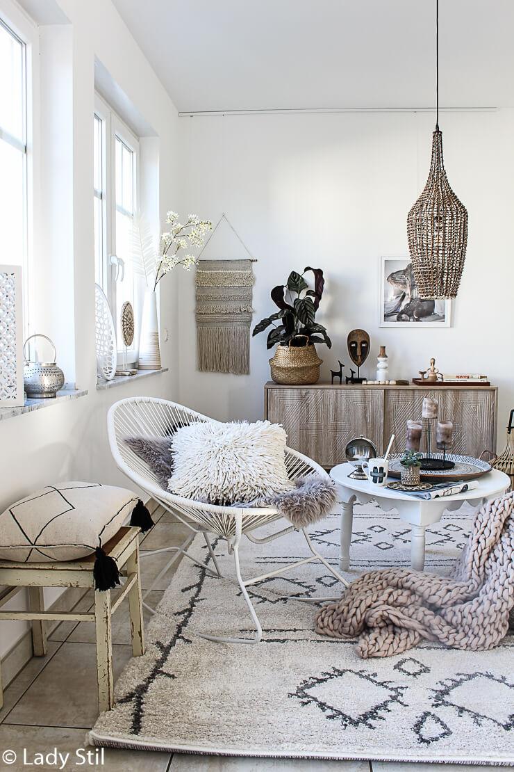 Vorher/Nachher Wohnzimmer Gestaltung - lady-stil.de