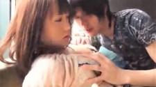 タツ/Rei/隠れ巨乳の女の子がイケメンに身を委ねてドキドキエッチ♡