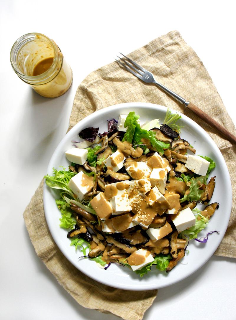 tofu-mushroom-salad-(12)