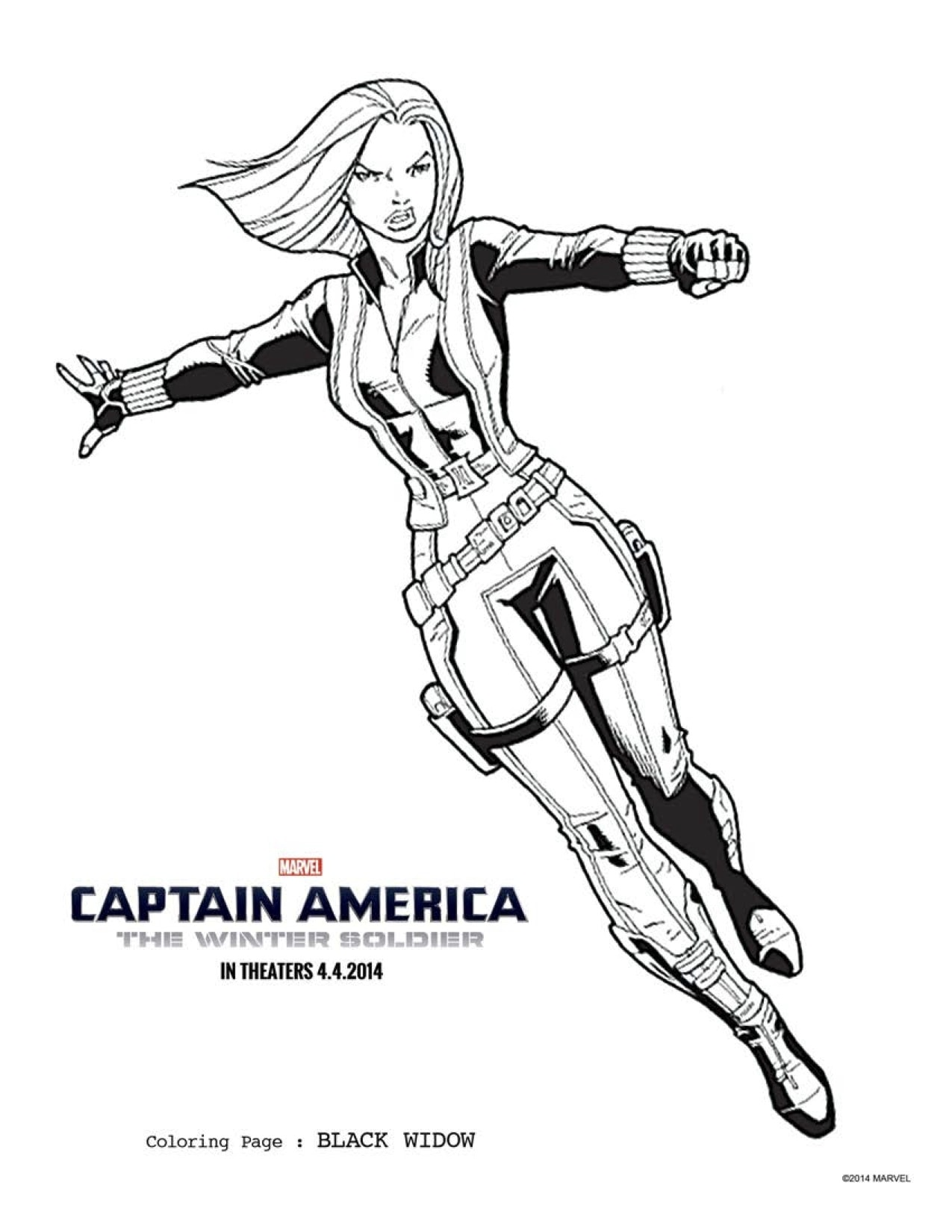 Free Captain America Coloring Pages Download Printables Here