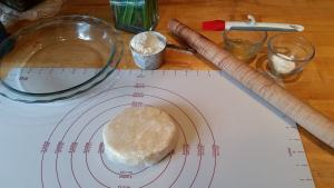 Ready to roll out pie dough