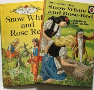 Two Ladybird versions of Snow White and Rose Red