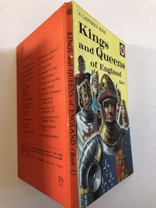 Kings and Queens book 1