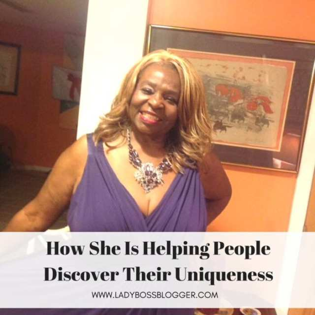 Female entrepreneur lady boss blogger Daphne Clarke-Hudson coach